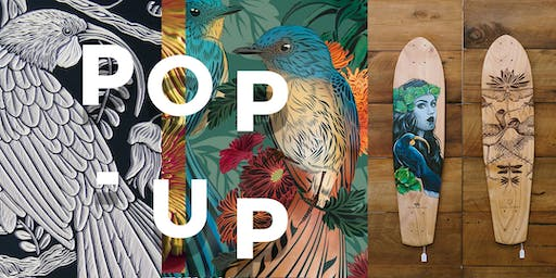 Pop Up: Flox, Hannah Jensen & The Paper Rain Project