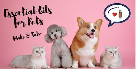 Essential Oils for Pets Make & Take tickets