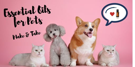 Essential Oils for Pets Make & Take