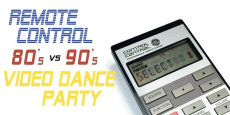 Remote Control - an '80s Video Dance Party tickets