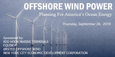 Offshore Wind Power - Planning For America's Ocean Energy tickets