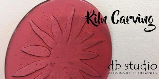 Kiln Carving | Fusing Glass at db Studio