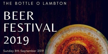 The Bottle O Lambton Beer Festival 2019 tickets