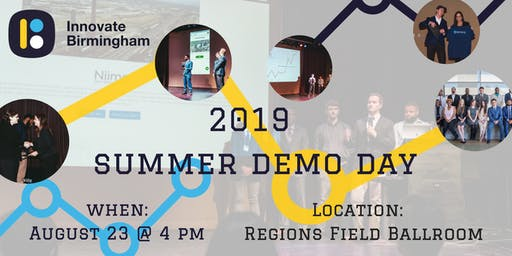 Innovate Birmingham: Summer Demo Day
