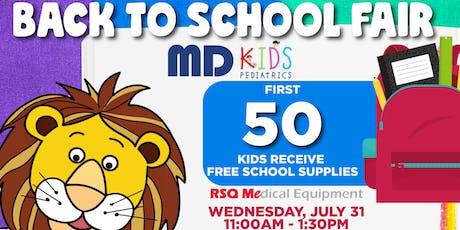 Back to School Fair- Ross Ave , Dallas Tickets, Sat, Jul 27