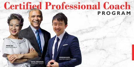 ICF Certified Professional Coach Program : Coaching as a Career tickets