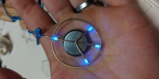 Wearable LED Pendants