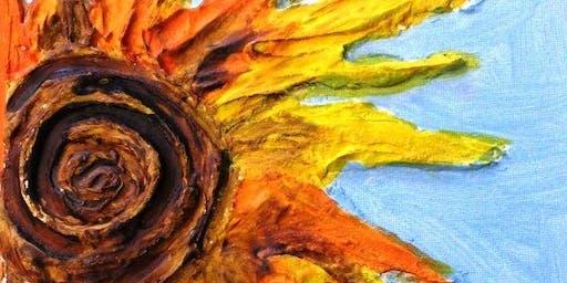 Parent & Child Create Night Ode to Van Gogh - Sunflower (5-12 Years)