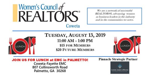 Women's Council Coweta August Meeting