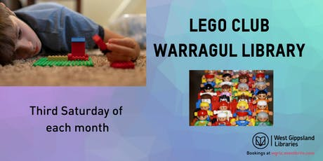 Lego Club @ Warragul Library  tickets