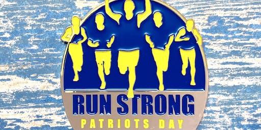 Now Only $12! Patriots Day 1 Mile, 5K, 10K, 13.1, 26.2 - El Paso