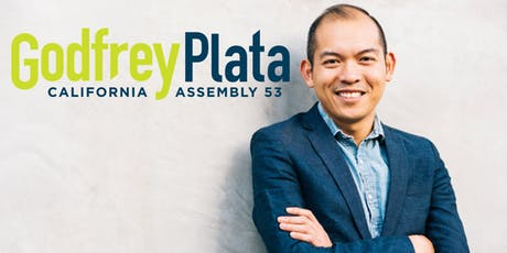 NYC fundraiser in support of Godfrey Plata, Democrat for CA State Assembly tickets