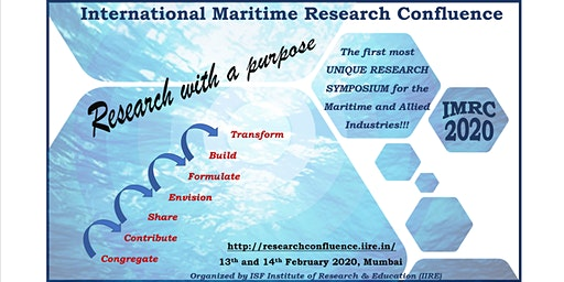 International Maritime Research Confluence - IMRC, 2020