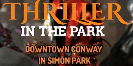 Thriller in the Park tickets