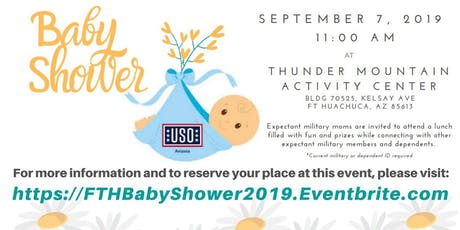 USO Baby Shower - Fort Huachuca tickets