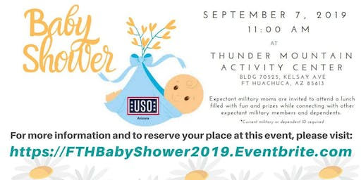 USO Baby Shower - Fort Huachuca