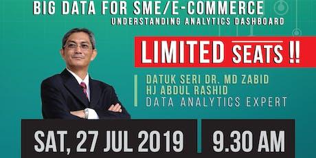 Seminar Big Data dan Analytics with Datuk Seri Md Zabid tickets