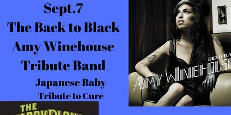 Back to Black Band -Amy Winehouse Tribute, Japanese Baby -Tribute to The Cure @ The Starry Plough Pub tickets