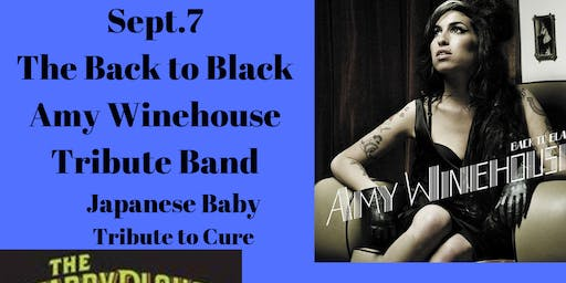 Back to Black Band -Amy Winehouse Tribute, Japanese Baby -Tribute to The Cure @ The Starry Plough Pub