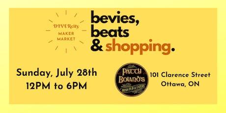 DIVERcity Maker Market: bevies, beats, & shopping billets
