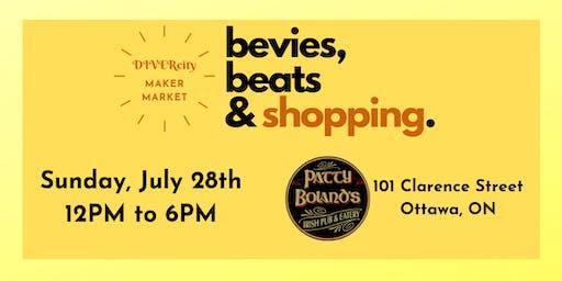 DIVERcity Maker Market: bevies, beats, & shopping
