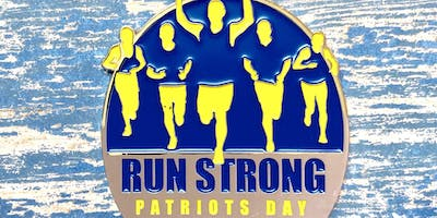 Now Only $12! Patriots Day 1 Mile, 5K, 10K, 13.1, 26.2 - Little Rock
