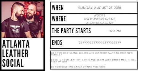 Atlanta Leather Social tickets