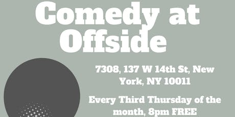 Free Comedy at Offside Tavern 9/19 tickets