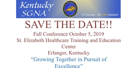 KYSGNA Fall Conference 2019 tickets