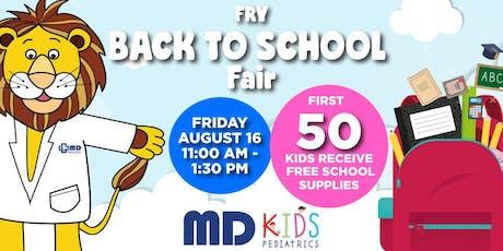 Back to School Fair- Fry Rd. Katy/ Houston tickets