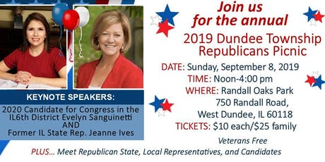 Dundee Township Republicans 2019 Picnic tickets