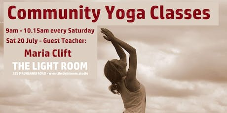 Community Yoga Class - Anahata with Maria Clift tickets