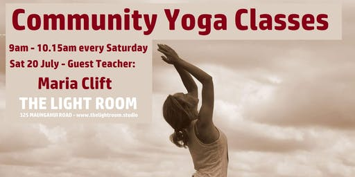 Community Yoga Class - Anahata with Maria Clift