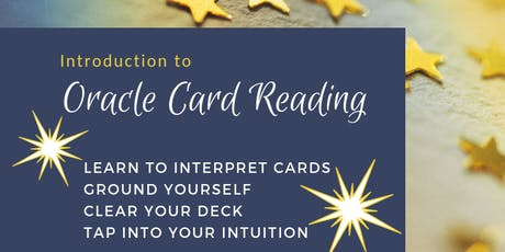 Learn to Read Oracle Cards tickets