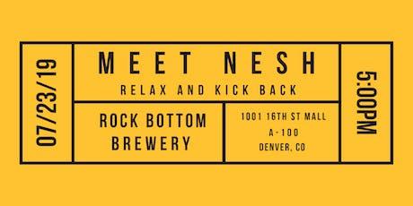Hey Nesh, where do I go this evening?  tickets