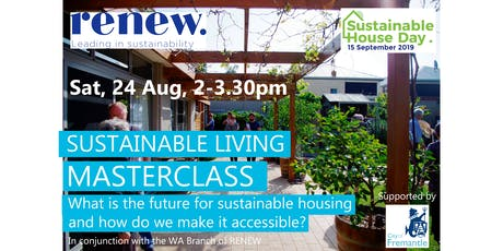 Sustainable Living Masterclass tickets