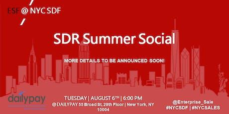 SDR Summer Social tickets