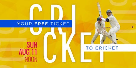 Your Free Ticket to Cricket tickets