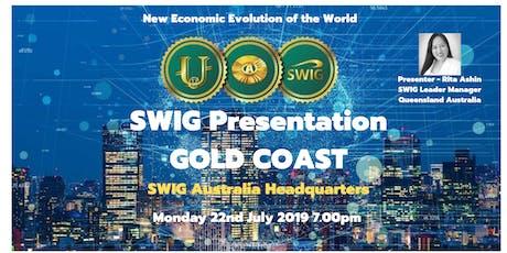SWIG GOLD COAST   The New Economic Evolution of the World  tickets
