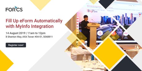 Seminar: Fill Up eForm Automatically with MyInfo Integration tickets