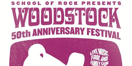 School of Rock Presents - Woodstock 50th Anniversary Festival