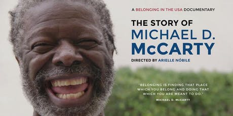 "Film Screening: Belonging in the USA: The Story of Michael D. McCarty"" tickets"