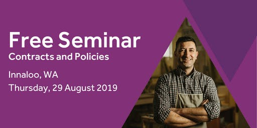 Free Seminar: Contracts and policies – Innaloo 29th August