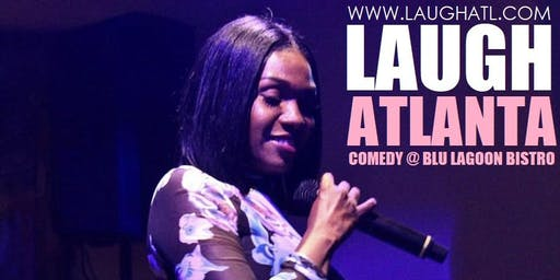 Laugh Atlanta at Blu Lagoon Bistro