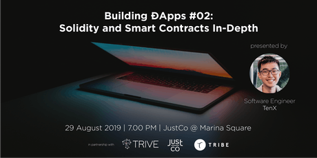 Building ÐApps #02: Solidity and Smart Contracts In-Depth tickets