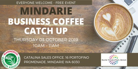 Free Business Coffee Catch Up - Mindarie tickets
