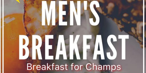 """Men's """"Breakfast For Champs"""""""