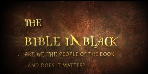 THE BIBLE IN BLACK