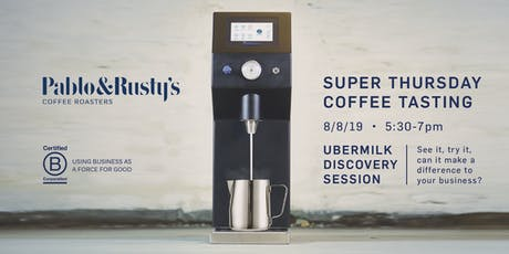 Pablo & Rusty's  AUGUST'S SUPER THURSDAY COFFEE TASTING tickets