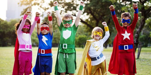After School Activity: Super Hero Disguise (Ages 5-12)